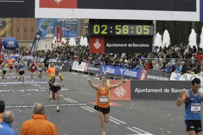 Maraton Barcelona 2010 (un sueño echo realidad)